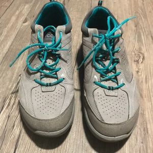 Ecco Leather walking shoe